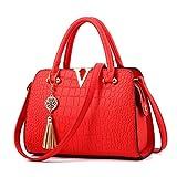 Luckywe Modetrend Handtaschen Schulter Griff an...