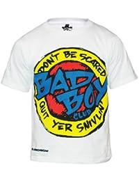Bad Boy Be Scared X-Large (13/14 Years ) - Prenda para niño, color blanco, talla UK: X-Large (13/14 Years)