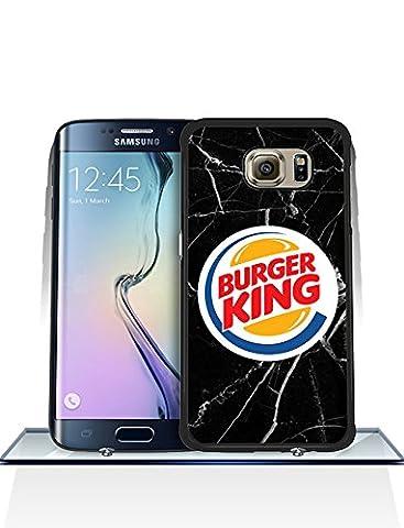Cool Samsung Galaxy S6 Edge Coque Case Burger King Galaxy S6 Edge Coque Case Burger King Logo&Brand Galaxy S6 Edge Téléphone Portable Ultra Thin Style Hard Back Coque Case Housse Étui Burger King Téléphone Portable Durable