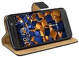 mumbi Tasche im Bookstyle für HTC 10 Tasche