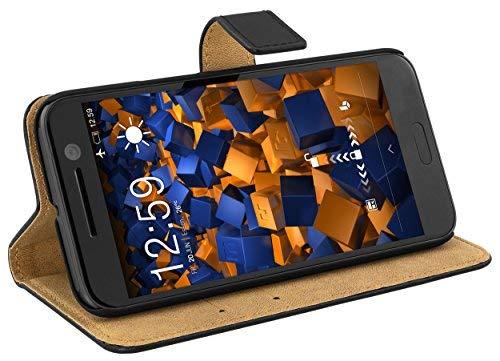 mumbi Tasche im Bookstyle für HTC 10 Tasche (Holster Htc One)