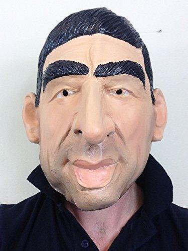 Eric Cantona Latex Maske Manchester United Fußballspieler Kostüm Partei