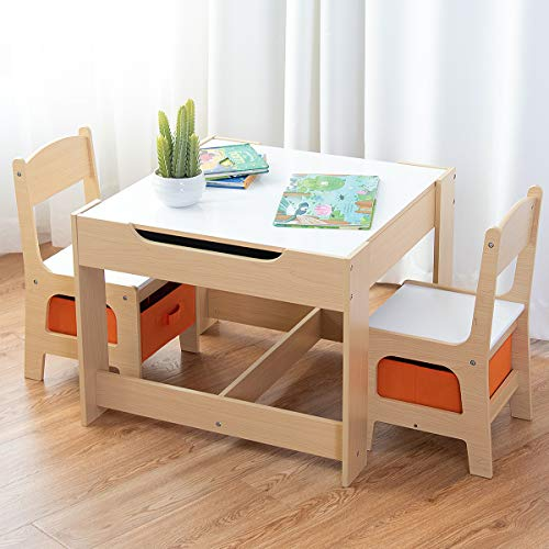 Children Tables 1pc Premium Plastic Diy Kinder Table And Chair Set With Colorful Alphabet Kinder Study Table Activity Fun Child Toy Children Furniture