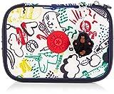 Kipling 100 PENS Trousses, 21 cm, 1.5 liters, Multicolore (Doodle Play Bl)