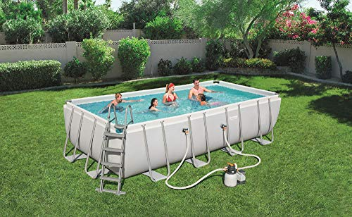 Bestway - Piscine hors sol Power Steel rectangulaire 549 x...