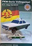 DDR PKW-Modell - Wolga GAZ 2410 - Volkspolizei Sammelserie Nr. 6