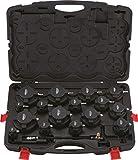 KS Tools 150.2520 Turbolader-Ladeluft-System-Prüfkoffer-Satz, 17-tlg