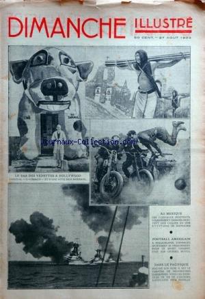 DIMANCHE ILLUSTRE [No 548] du 27/08/1933