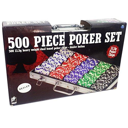Spinmaster-6036778-115-g-Dual-Tone-Poker-Chip-Set-in-Aluminium-Case-500-Piece