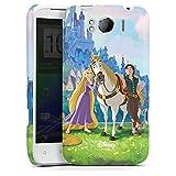 HTC Sensation XL Hülle Premium Case Schutz Cover Disney Rapunzel ? Neu verföhnt Merchandise Geschenke
