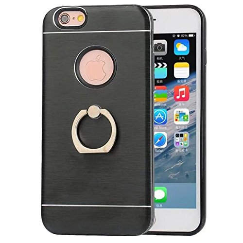 iPhone 66S case, Xinrd ultra Light sottile supporto funzione protettiva custodia cover per Apple iPhone 6/iPhone 6s custodia e pellicola protettiva 11,9cm oro