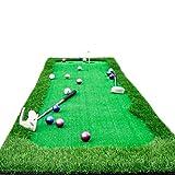 Hyzb Golf Practice Mat Indoor Minigolf Green Putting Praxis Set Praxis Decke Künstliche Simulation (größe : 0.75 * 3m)
