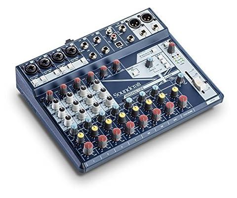 SOUNDCRAFT NOTEPAD 12FX Console de mixage avec USB I/O
