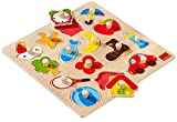 Jumbo Spiele Goula D53023 - Holzpuzzle Silhouetten