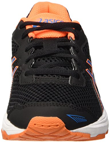 Asics Gt-1000 5 Gs, Scarpe da Ginnastica Unisex – Bambini Nero (Black/Blue Jewel/Hot Orange)