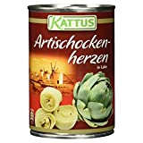Kattus Artischockenherzen, 390 g