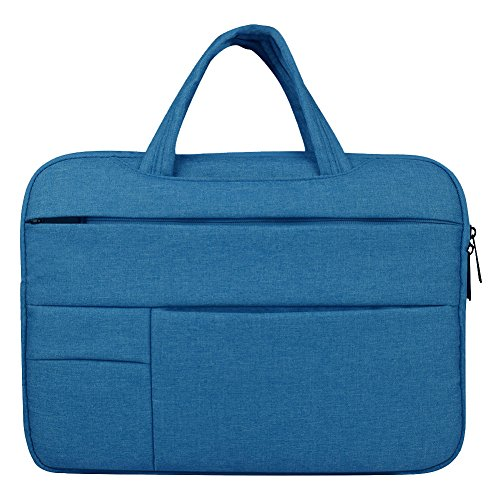 Laptoptasche, 14 Zoll Ultra slim tragbares Wasserdicht Stoßfest Notebook Tasche Schutztasche sleeve hülle für Apple Macbook Pro/Surface Laptop/Acer/Asus/Dell/Lenovo/HP,Himmelblau