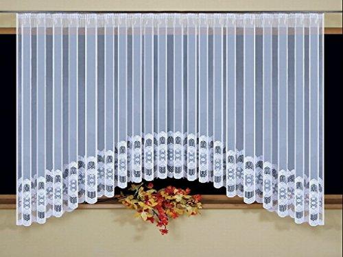Sehr schöne weiß Net Vorhang 300x 160cm Fenster Dekoration (63 Der Länge In Gardinen)