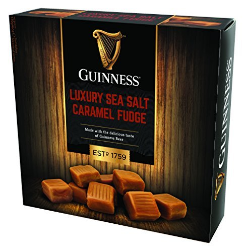Guinness Luxury Sea Salt Caramel Fudge-Box, 170 g