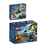 Lego City Bergpolizei 2er Set 60170 60171 Offroad-Verfolgungsjagd + Verfolgung durch die Berge