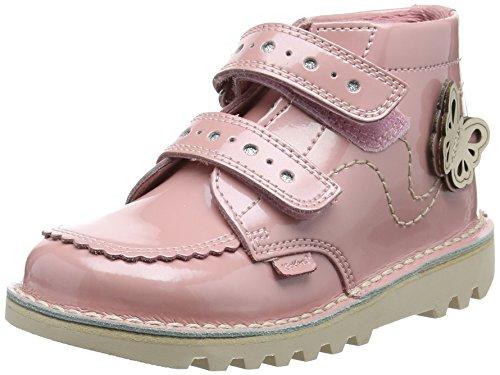 Kickers Girls' Kick Hi F Patl If Lt Boots, Pink (Light Pink),...
