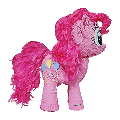 amscan Pull-Pinata Pinkie Pie, Pink, one Size, 4