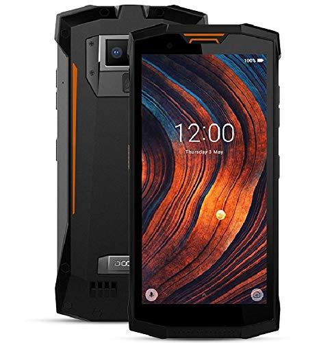 DOOGEE S80 LITE - Walkie-Talkie professionale Smartphone con batteria 10080mAh, IP68 / IP69K Impermeabile Android 8.1, schermo FHD + da 5,99 pollici, Octa Core da 2,5 GHz 4 GB + 64 GB arancia