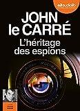 L'Héritage des espions - Livre audio 1CD MP3 - Audiolib - 12/09/2018