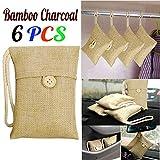 TianranRT 6pcs Beutel Auto Bambus Aktivkohle Duft Lufterfrischer Luft Tasche Bambuskohle Geruch Deo