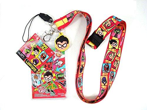 DC Teen Titan Lanyard with PVC Dangle