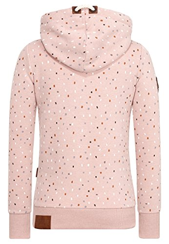 Naketano Female Hoody Double Ds oder Lichtschwert? Dusty Pink Melange