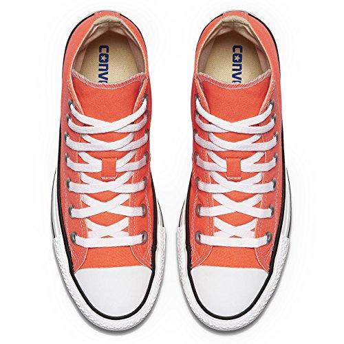 Converse Womens CTAS Hi Hyper Canvas Trainers Orange