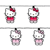 Hello Kitty Kurt Adler UL 10-Light Pink Light Set
