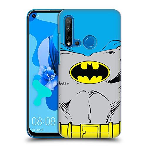 Lite Hellen Kostüm - Head Case Designs Offizielle Batman DC Comics Klassische Kostueme Logos Harte Rueckseiten Huelle kompatibel mit Huawei P20 Lite (2019)