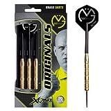 XQMAX Originals Michael van Gerwen Steel Dart, 100% Brass, 23g