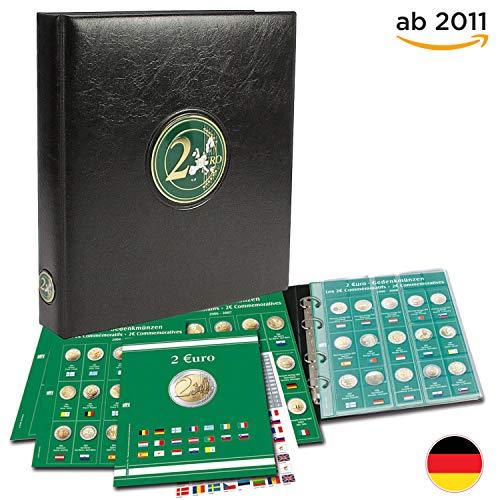 o Münzen Sammelalbum - Münzsammelalbum - 2 Euro Sammelalbum - für Deine Coin Collection ab 2011 ()