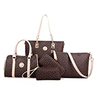 5-Piece Classic Tote Bag Set
