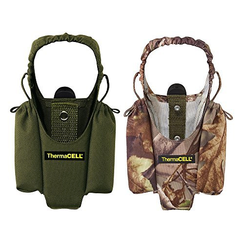 Thermacell Handgerät Mückenschutz Appliance Holster w/Clips - 1 Olive, 1 Realtree