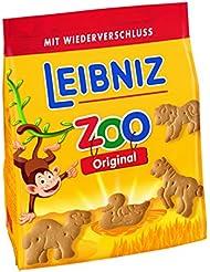 Leibniz Zoo Original 125g - Mini-Butterkekse mit lustigen Tier-Motiven - für Kinder -  Kekse zum Spielen - Kinderkekse für den kleinen Hunger