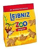 Leibniz Zoo Original 125g - Mini-Butterkekse mit lustigen Tier-Motiven -
