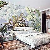 sybdnr Murale Pastorale Rain Forest 3D Fond D'écran Salon Chambre Galerie Restaurant Toile De Fond-390x256cm