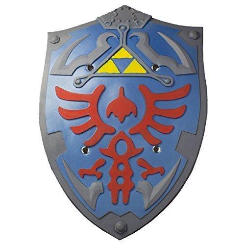 Links Hyrule Schild als Polsterwaffe aus Zelda (Link Skyward Sword Kostüm)