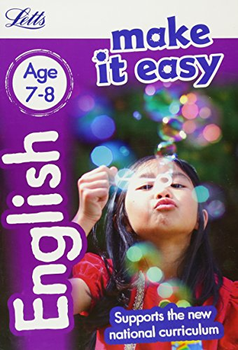English Age 7-8 (Letts Make It Easy)