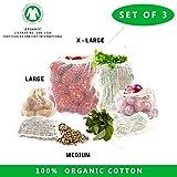 Set di 3 - 3 size mesh bag- large ,Extra large, Medium per bucato, camicetta, calze, biancheria intima, calze, viaggio lavanderia.Per un facile trasporto.Regolabile, cordino, chiusura