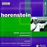 Jascha Horenstein - Mahler : Symphonie N 9 & Kindertotenlieder