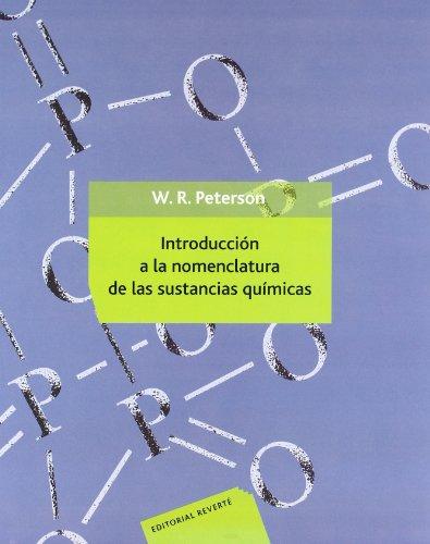 Introducción a la nomenclatura de las sustancias químicas