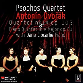 Anton�n Dvor�k: String Quartet No. 14 & Piano Quintet No. 2