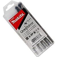 Makita D-30477 - Estuche de brocas Multimaterial 5 unds. Omnibohrer