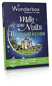Coffret cadeau Wonderbox Mille et une Nuits Romantiques