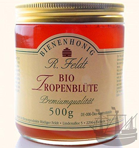 BIO Tropenblüten Honig, flüssig, mild, 500g